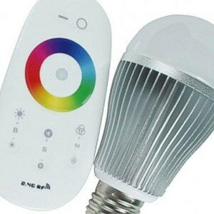 Лампа RGB LED цветная